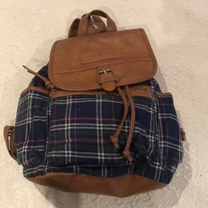 Handbags - NEW! Plaid backpack